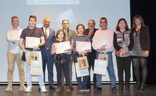 Entrega de los premios del septimo Rally Fotográfico por la Igualdad, en Valladolid