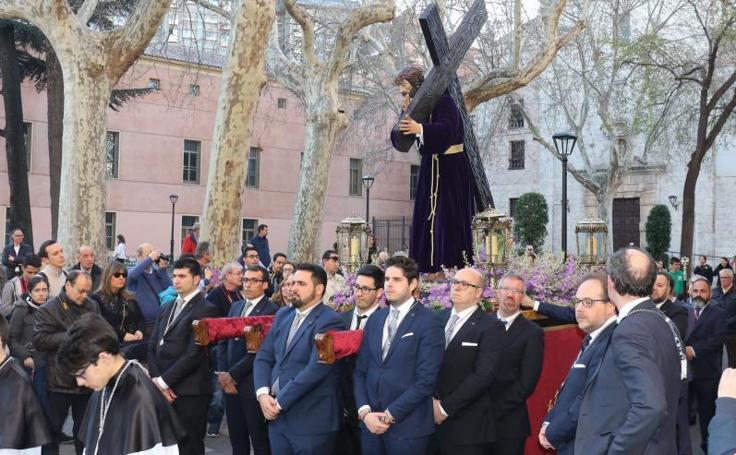 Via Crucis de la cofradía Penitencial de la Sagrada Pasión de Cristo en Valladolid
