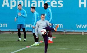 Valverde: «La eliminatoria ante el United va a ser difícil»