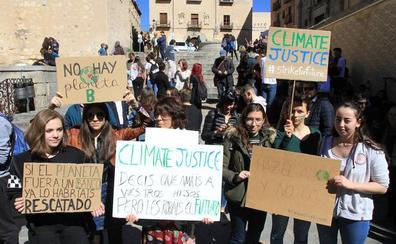 Los jovenes se rebelan contra el futuro incierto por el cambio climático
