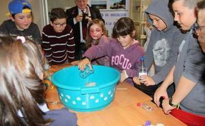 Ciencia para niños en Baltanás