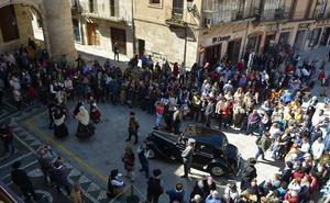 Ciudad Rodrigo vuelve a 1944 para recibir al gobernador y la declaración de Conjunto Histórico