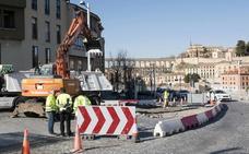 Conducir por Segovia se complica: el tráfico de Padre Claret se desvía por Soldado Español durante seis semanas