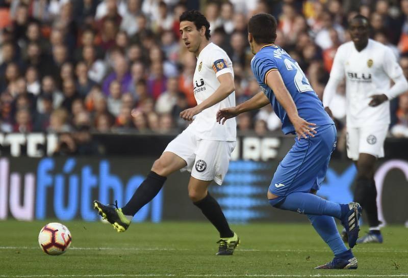 El Valencia no puede con el Getafe