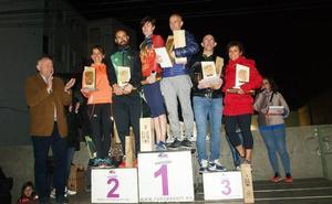 Juan Mangas y Miriam Delgado ganan el Trail Nocturno de Íscar