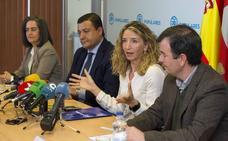 Alicia García se presenta al Congreso por el PP en Ávila con «humildad», «responsabilidad» y «coraje»