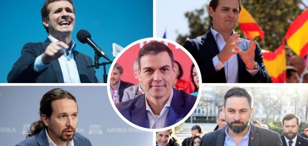 Las candidaturas para el 28 de abril dan pie a la operación limpieza en los partidos
