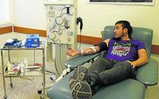 Las unidades móviles en el medio rural aportan el 60% de la sangre que se dona en Palencia