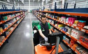 A Mercadona le cuesta 16 euros hacer la compra por internet a un cliente