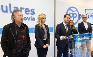 Marco Costa, gerente del Juan Bravo, entra en la lista del PP junto a Carolina García, José Luis Huertas y Silvia Pasarón