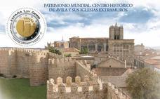 Correos lanza un sello circular que homenajea a Ávila como ciudad Patrimonio Mundial