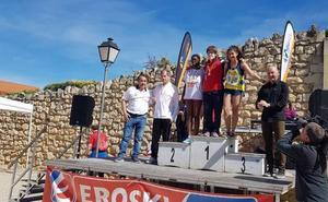 Los atletas segovianos dominan el Campeonato de Castilla y León de Campo a Través