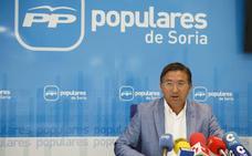 Cristina Pinillos, Gerardo Martínez y José Manuel Hernando, los senadores por Soria propuestos por el del PP