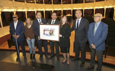 El Teatro Principal de Palencia protagonizará el cupón de la ONCE