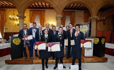 Diego González gana en Salamanca el XXI Concurso Regional de Sumilleres