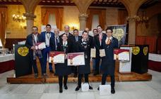 XXI Concurso de Regional de sumilleres en el Casino de Salamanca