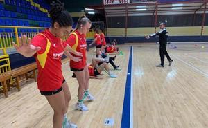 La selección nacional juvenil femenina de balonmano disputa dos amistosos en Béjar