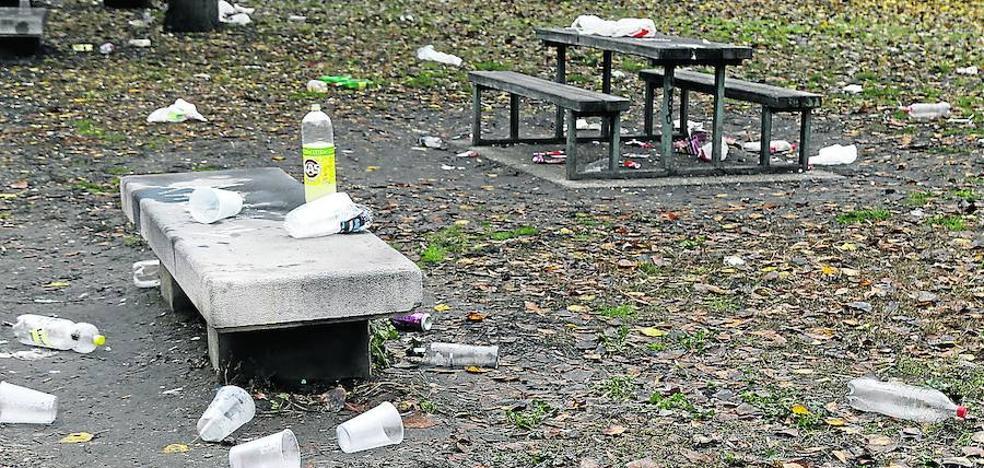 La Policía Local de Palencia identificó a 75 jóvenes por hacer botellón el pasado año