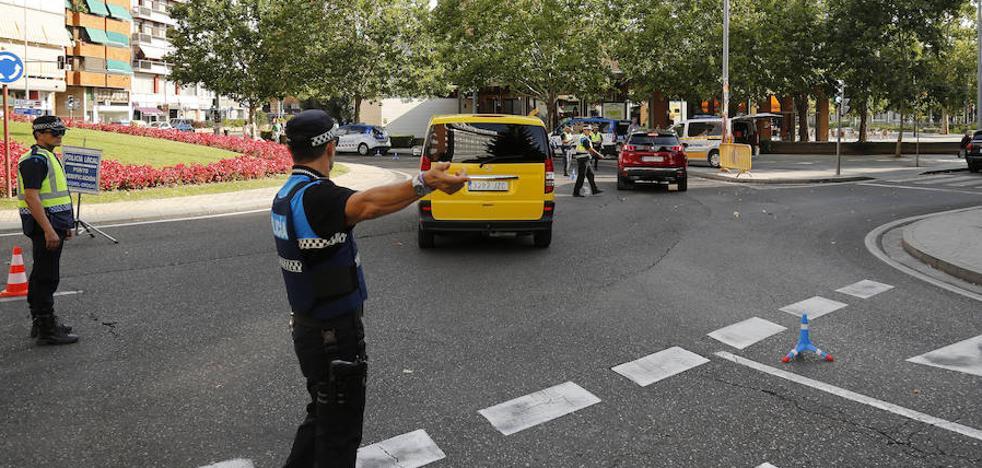 Denunciada por conducir por Palencia sin carné y bajo los efectos del alcohol