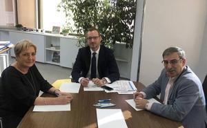 Paloma Sanz, José Luis Sanz Merino y Juan José Sanz Vitorio, en la lista del PP al Senado