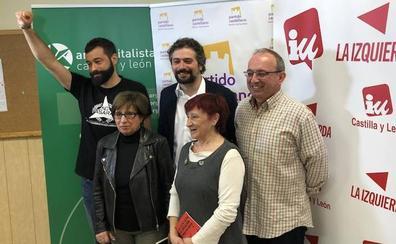 IU aglutina a otras fuerzas de la izquierda en una confluencia en la que no entra Podemos