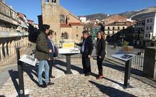 La localidad de Béjar se dota de nuevas señales turísticas para el casco histórico