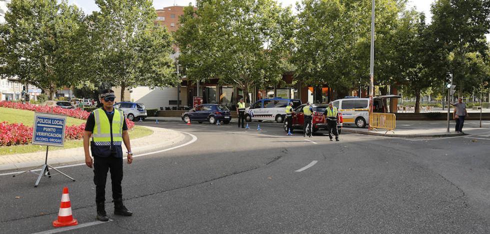 Detenido por atentar contra los agentes y negarse a la prueba de alcoholemia tras un accidente en Palencia