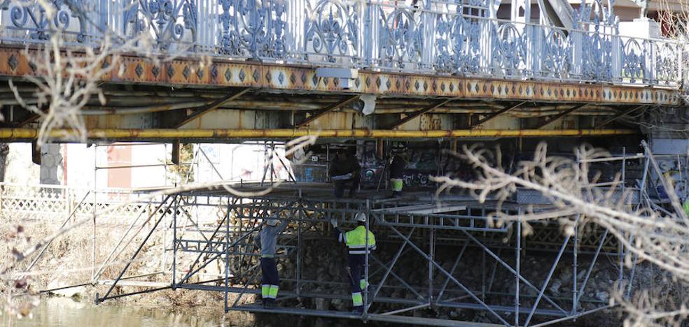 El Puente de Hierro de Palencia se cortará tres meses al tráfico a partir del 8 de abril