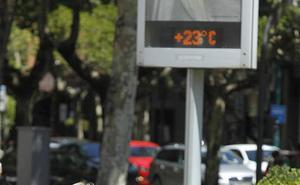 La Aemet prevé altas temperaturas y escasez de lluvias durante la primavera en Castilla y León