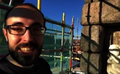 El espectacular 'making off' en lo alto del Acueducto de Segovia