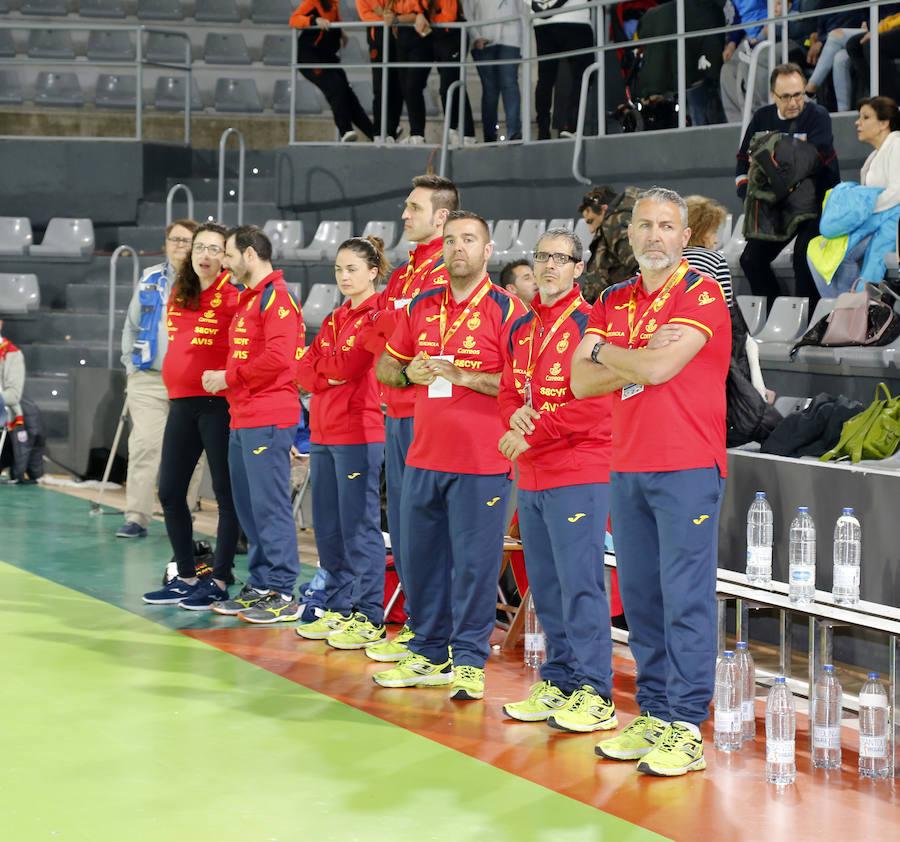 España 35 - 18 Suiza 2/2