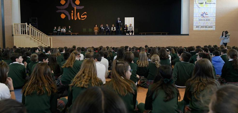 El Ayuntamiento de Valladolid celebra el Día del Síndrome de Down en el Colegio Jesuitinas