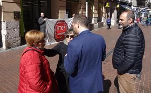 Una pensionista lucha desde hace cinco años para evitar su desahucio de un piso en Valladolid