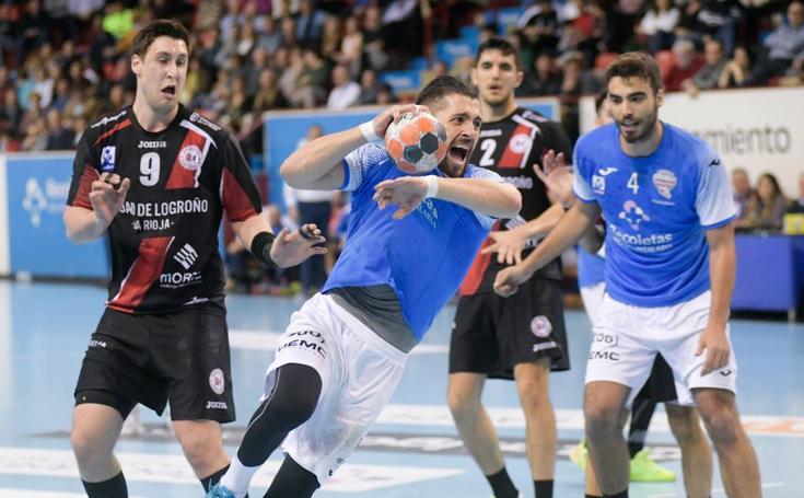 El Recoletas Atlético Valladolid cae ante el BM Logroño (27-31)
