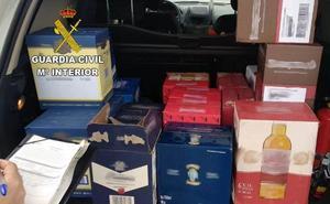 Detienen en Villamanín a los autores de un robo de bebidas alcohólicas por valor de 1400 euros en Mercaleón