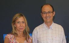 Rodrigo Mediavilla, Jorge Domingo Martínez y Carmen Fernández, candidatos del PP al Senado por Palencia