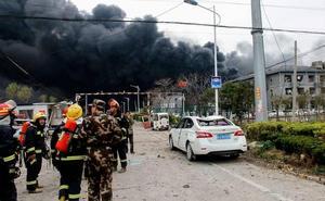 Seis muertos y 30 heridos en una explosión en una fábrica de pesticidas en China