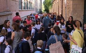 La enseñanza concertada acusa la bajada de la natalidad en Segovia