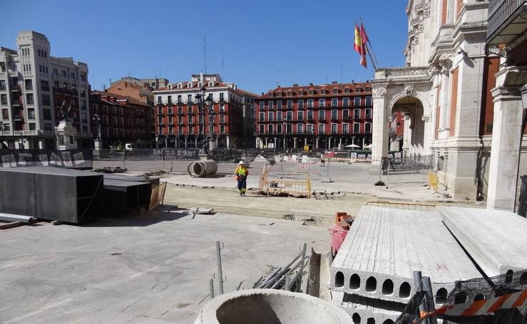 Obras de la Plaza Mayor