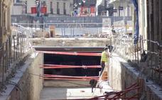 La conclusión de las obras en superficie permitirá el paso de las procesiones por la Plaza Mayor de Valladolid
