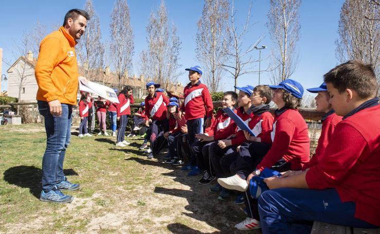 Celebración del Día del Arbol en Segovia