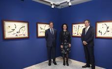Exposición de Picasso, Miró y Dalí en la Casa Lis de Salamanca
