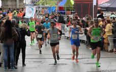 Cambios de horarios y recorridos de los autobuses urbanos por la Media Maratón
