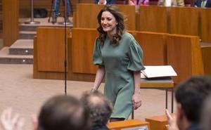 Raquel Sanz, viuda del torero Víctor Barrio, número dos del PP de Segovia en la lista al Congreso