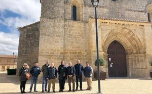 La Diputación invertirá 60.000 euros en la accesibilidad y embellecimiento del entorno de la iglesia de Husillos