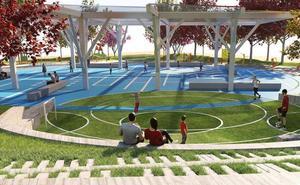 El Ayuntamiento inicia la próxima semana las obras del nuevo parque de Huerta Otea