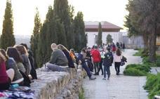 Rescatada una menor tras caer al vacío desde uno de los muros del Jardín Botánico de Salamanca