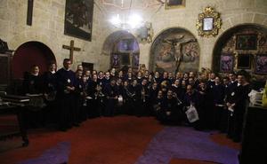 Medina de Rioseco arropa a la Banda del Nazareno en su 25 aniversario