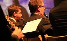 Concierto de música procesional en Alba de Tormes