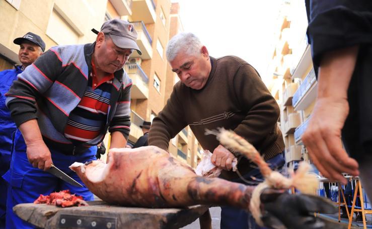 Matanza del cerdo en el Barrio del Oeste